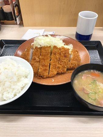 Akishima, Japan: ロースカツ定食