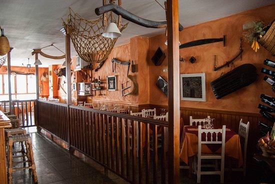Trevelez, Spania: Restaurant interior