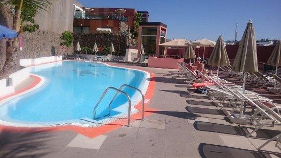 Las Villas de Amadores : Förhållandevis litet pool-område, fin utsikt, rent & fräscht