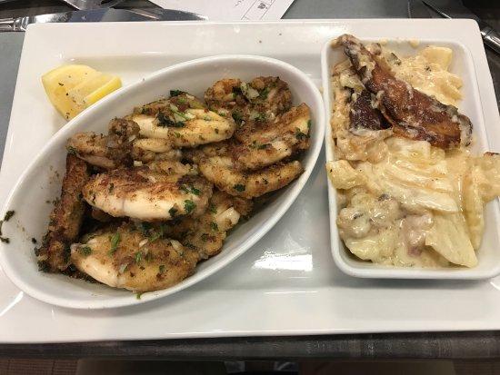 Grenouilles et gratins dauphinois saumon fum picture for Agencement cuisine du sud