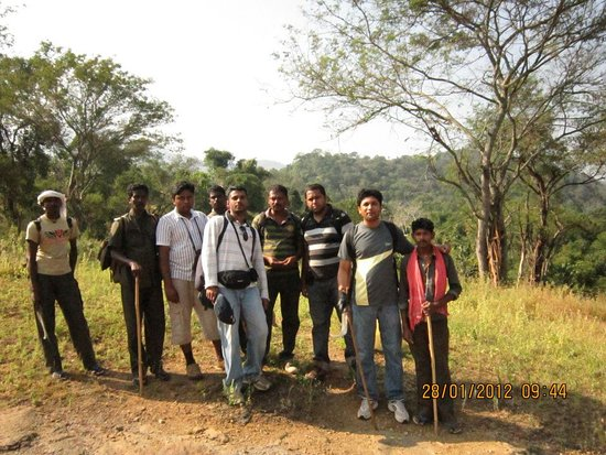 Chinnar Wildlife Sanctuary: Company of some tribals