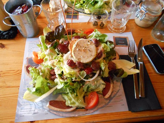 Le Belleville : Salade copieuse !!