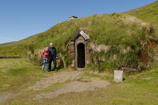 Budardalur, Iceland: Nachbau des Grassodenhaus