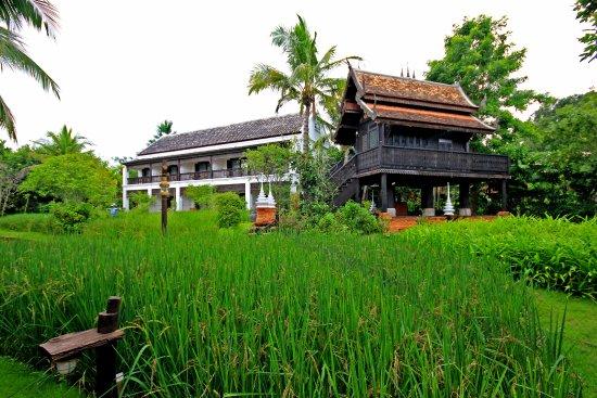 Saraphi, Tayland: chambres classiques, jardin et rizières, situés juste à l'arrière des villas sur pilotis...