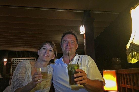 Saraphi, Tailândia: Excellents mojitos... en fin de soirée