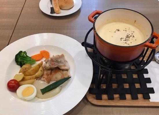 Akishima, Japan: One of Two Main Dishes