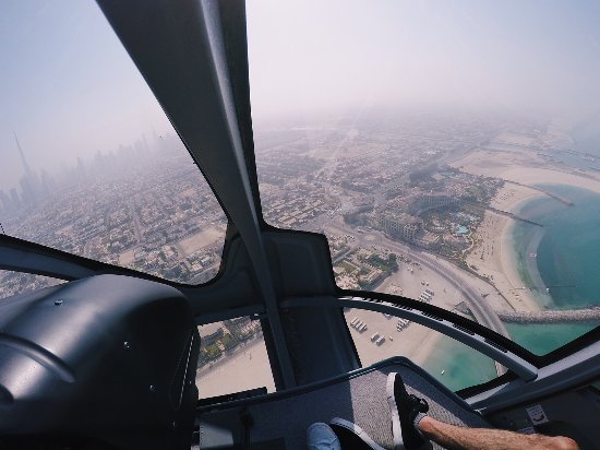 Soak up the views of Dubai from the sky