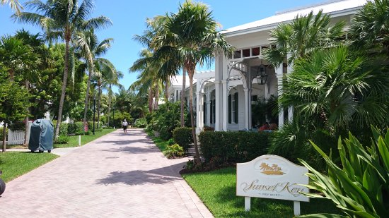 Sunset Key Cottages: Ankunft auf der Insel