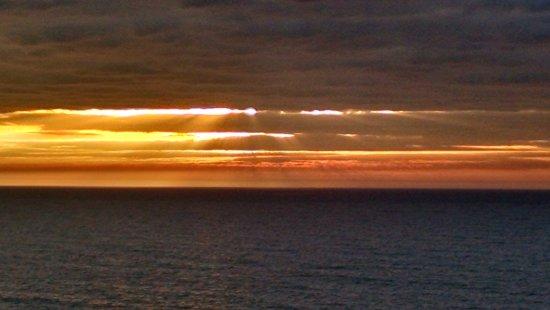 Forest Dunes Resort: North east side at sunrise