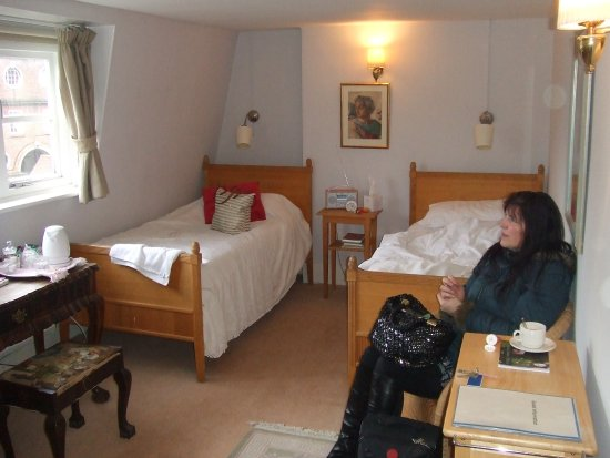 Temple Lodge Club: Our room just before departure