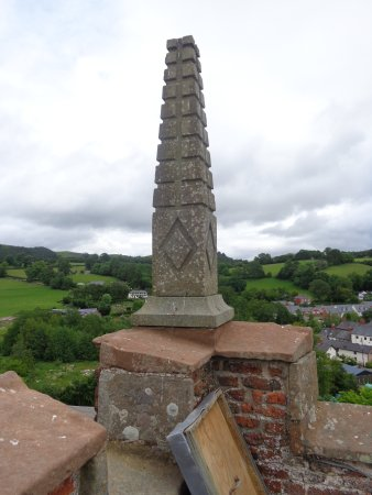 Llanfyllin, UK: East View ,From Top Of Tower
