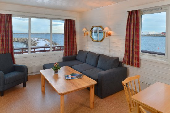 Andenes, Norveç: Each cabin has a sating and dining area