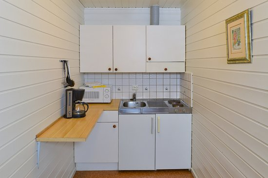 Andenes, Norveç: Each cabin has a kitchenette