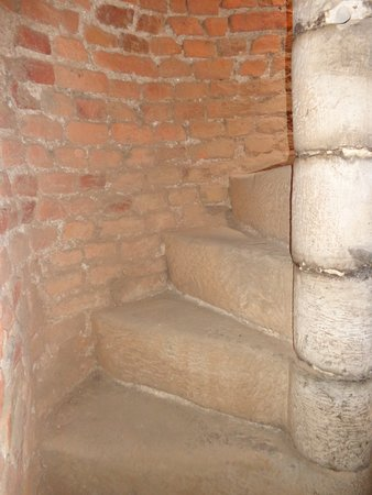 Llanfyllin, UK: The Steps To The Belfry