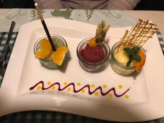 Restaurant Krone: Dessert..