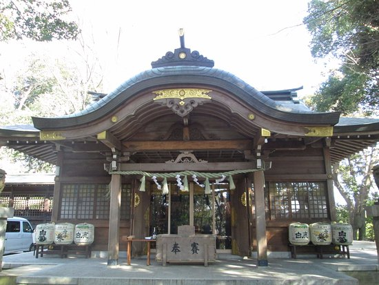 Hitachinokuni Soshagu Shrine