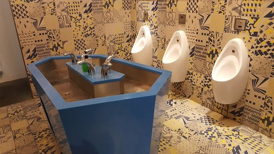 Interesting toilet decor - Picture of Evolve Concept Mall, Petaling ...