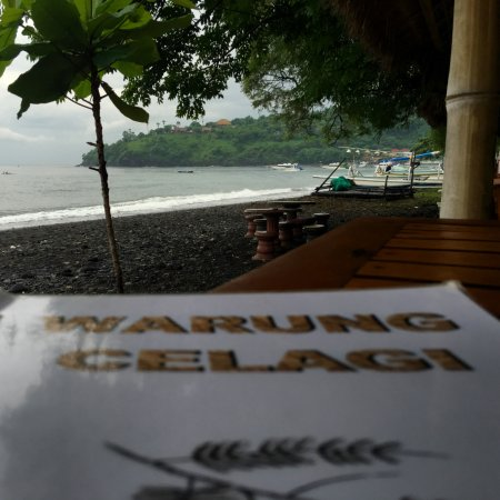 Warung Celagi: View from table