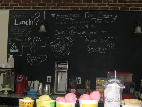 Camden, SC: Specials board