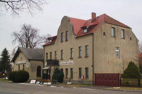 """Storkow, Deutschland: Gaststätte """"Zur deutschen Einigkeit"""" in Rieplos"""