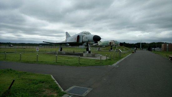 日本小美玉市: 戰鬥機展示區