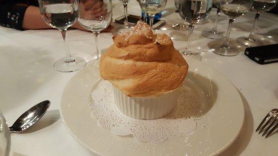 Brasserie du Grand Café de l'Opéra : Le soufflé