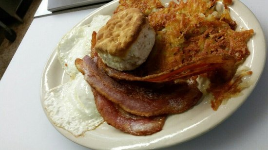 Ranch House Cafe : Ranch House 2017 BEST Breakfast for miles! Meaty bacon, perfectly seasoned steak, eggs to order!