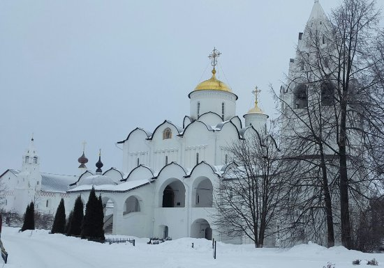 The Convent of the Intercession (Pokrovsky Monastery)