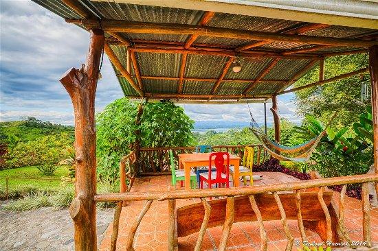 Encantada Guest House: Upper Terrace Fantastic Views