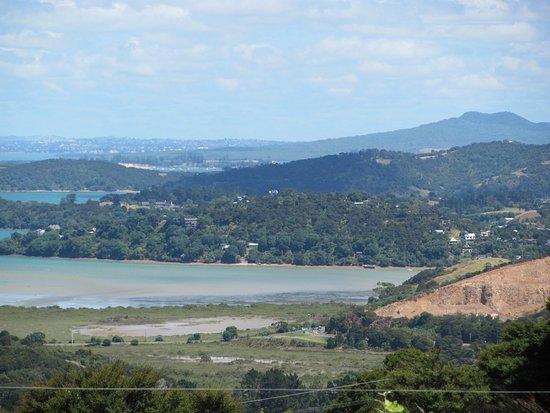Waiheke Island, New Zealand: One of the views