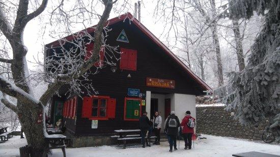 Zagreb County, Croatia: Mountain home Risnjak in winter
