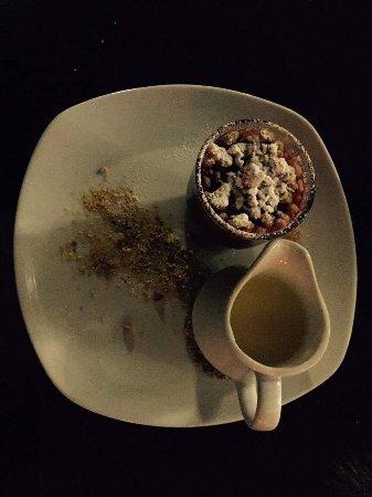 Cracoe, UK: Dessert (11.02.17)