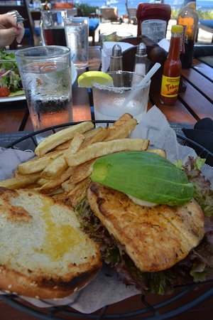 Playa Ocotal, Costa Rica: Fish burger