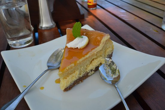 Playa Ocotal, Costa Rica: cheesecake