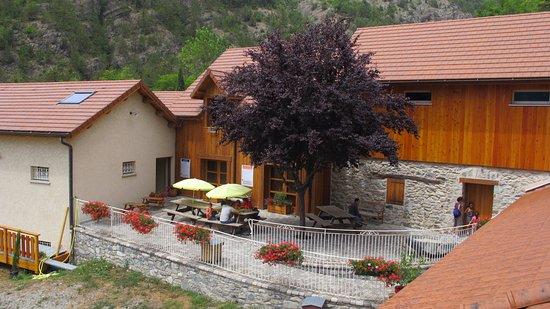 Rousset, France: la terrasse