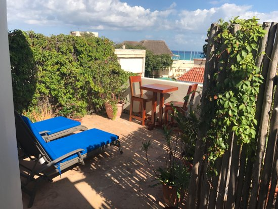 Hotel Delfin: Balcony