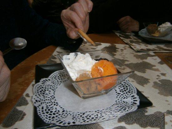 La Boustifaille : Glace mandarine