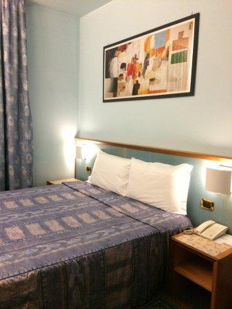 Hotel Le Ruote: La zona letto