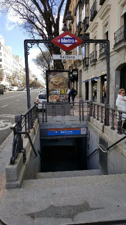 Calle de serrano madrid calle de serrano yorumlar - Calle serrano 55 madrid ...