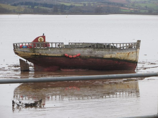 Exmouth, UK: Keep your eyes open for this boat on your cycle.