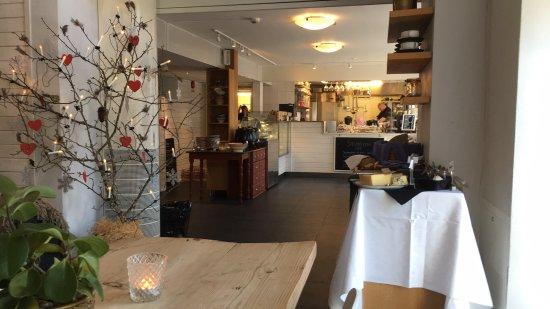 Skanor, Zweden: Restaurangen
