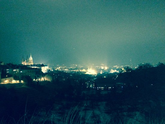 Restaurant Bellavista : View from out front - excuse the filter, it's hard to do the view of prague justice on an iPhone