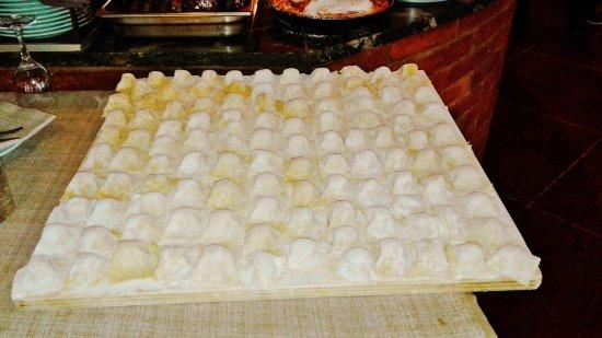 Dicomano, Itália: Tortelli di patate