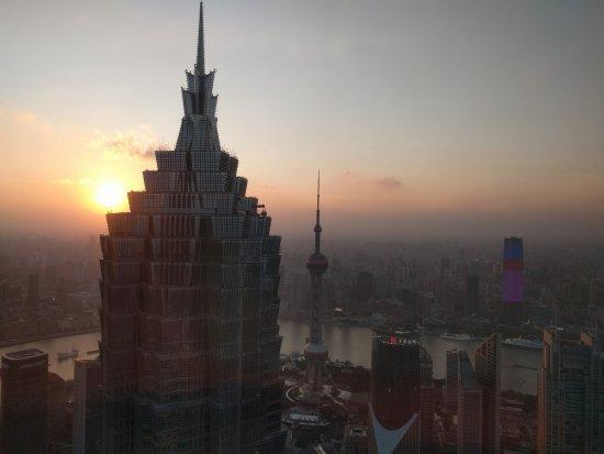 Park Hyatt Shanghai: View during the evening