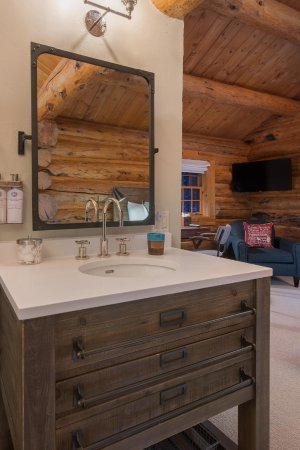 Wilson, WY: Each room features a Restoration Hardware Vanity