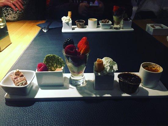 Signe Jeanne : Le dessert est toujours aussi exceptionnel et les amuses bouches offerts sont toujours sympathiq