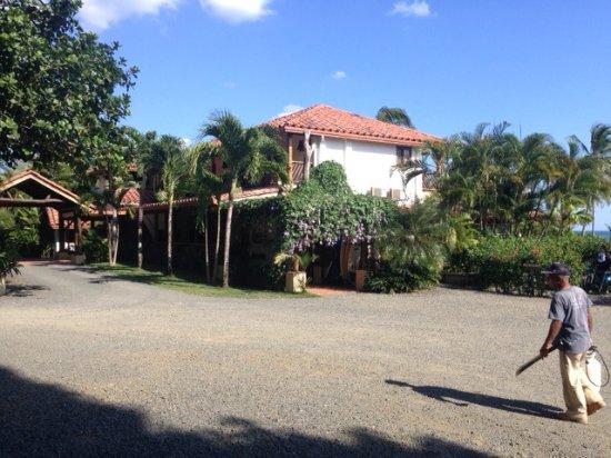 Cambutal, Panamá: Estacionamiento