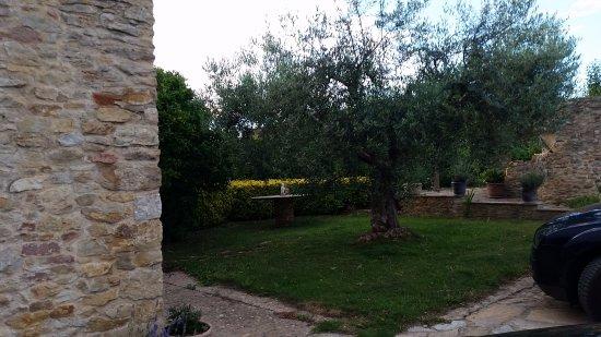Sant Feliu de Boada, Spain: El jardín eterno.