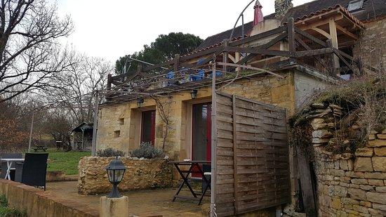 Degagnac, France: chambre ou nous avons dormis