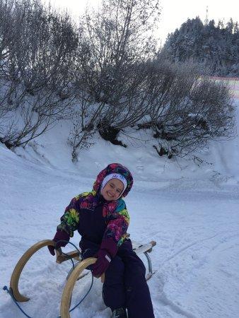 Rodelbahn: Чудесный отдых если не катаешься на лыжах, дети и взрослые в восторге, санки разной категории!